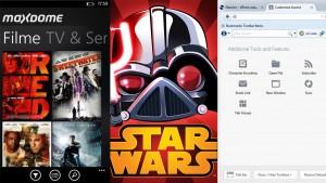Firefox erhält neues Design, maxdome für Windows Phone und Angry Birds Update