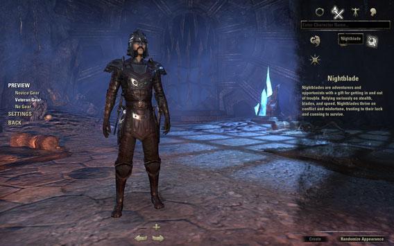 Elder Scrolls Online - Personaggi