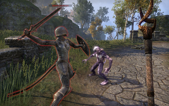 Elder Scrolls Online - Fighting Familiar