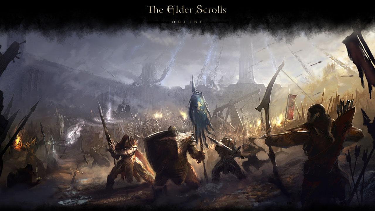 Vorschau auf PvP in Elder Scrolls online: chaotisch-zähe Massenschlachten