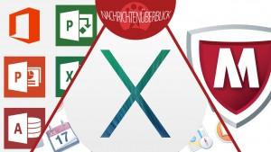 Microsoft veröffentlicht Office 2013 Servicepack 1, Apple schließt Sicherheitslücke, McAfee für Android kostenlos
