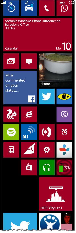 Windows Phone 8 - live tiles