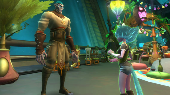 WildStar - Comic-Look
