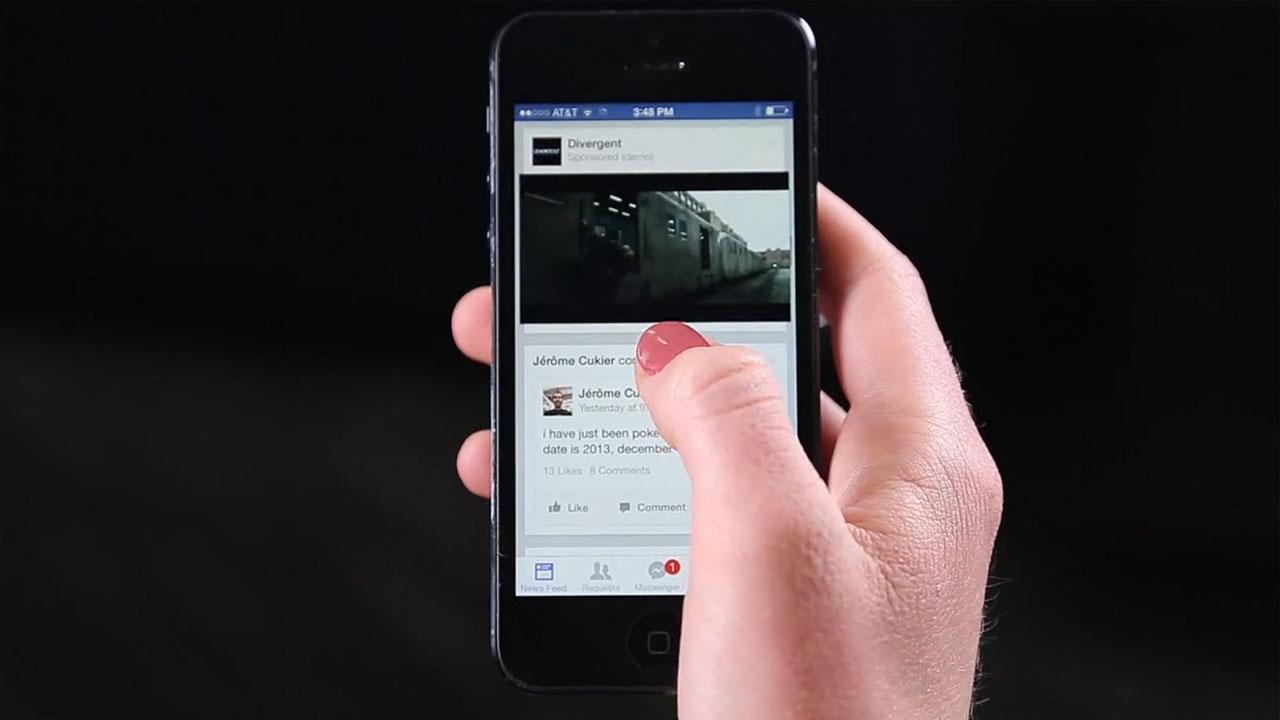 Facebook zeigt allen Nutzern Werbevideos mit Autostart