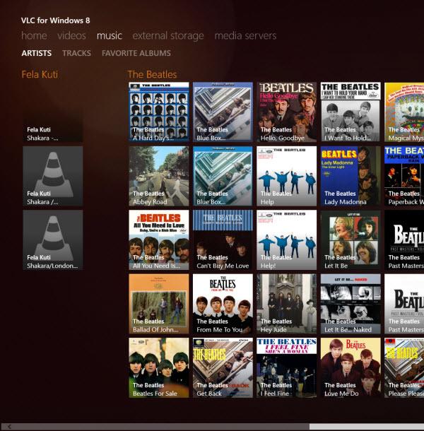 VLC - artistes