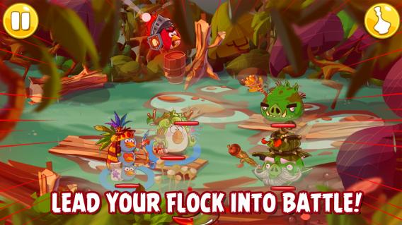 Angry Birds Epic ist ein rundenbasiertes Rollenspiel