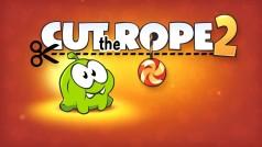 Cut the Rope 2: Puzzlespaß mit dem grünen Om Nom jetzt auch für Android