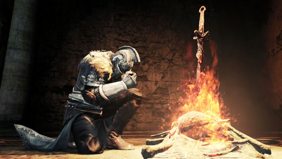 Dark Souls 2 - Bonfire