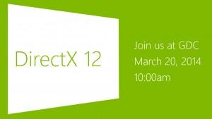 Microsoft stellt DirectX 12 am 20. März 2014 vor