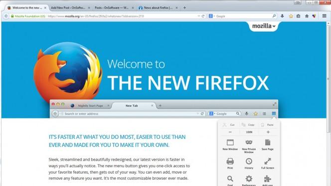 Mozilla Firefox 28 Aurora Header