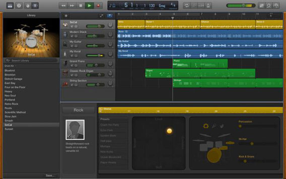 GarageBand 11 - Screenshot