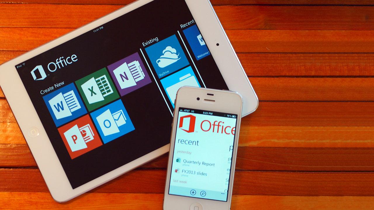 Microsoft Office für iOS und Android: Word, Excel und Powerpoint kostenlos für iPad und Android-Smartphones