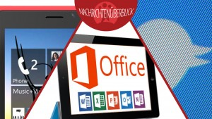 Microsoft Office für iPad, Windows Phone 8.1, neue Foto-Features für Twitter