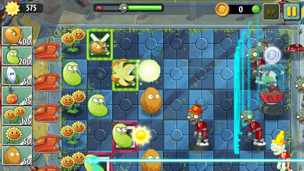 Plants vs. Zombies 2: Erweiterungspack Far Future bringt neue Level und Zombies