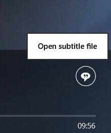 Sous-titres VLC