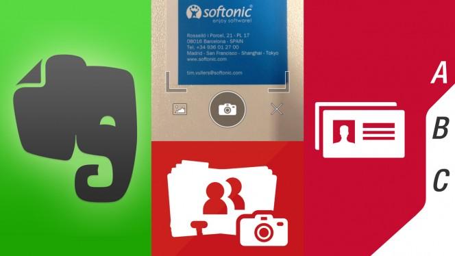Visitenkarten einscannen mit dem iPhone: Abbyy, FullContact und Evernote im Vergleich
