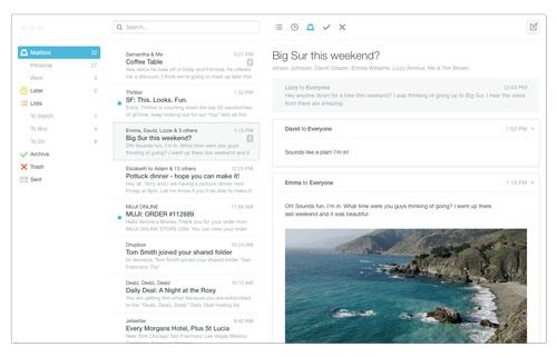 Mailbox für Mac Beta