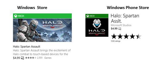 Microsoft Universal Windows App Beispiel Halo