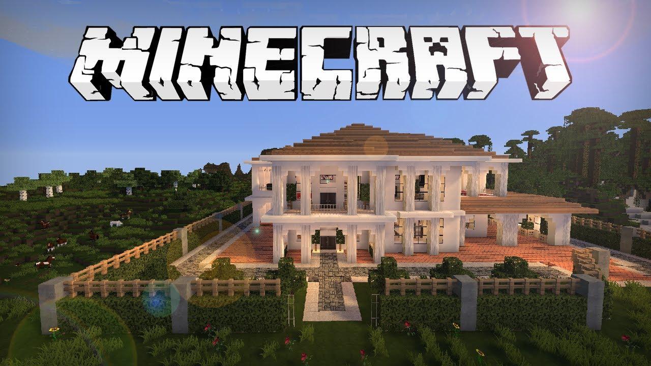 Minecraft Und GTA V Fans Bauen Michael De Santas Haus Nach - Minecraft hauser schnell bauen
