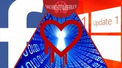 Heartbleed-Fehler betrifft viele Internetseiten, Facebook-Privatsphäre, Windows 8.1 Update 1