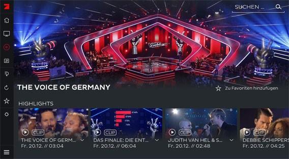 7TV: Live-Fernsehen mit der Streaming-App von ProsiebenSat.1