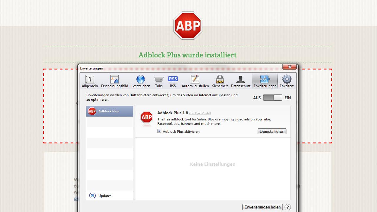 Adblock Plus veröffentlicht Safari-Erweiterung für Windows und Mac