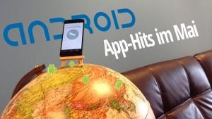 Die Android-Hits im Mai: Fernsehen auf dem Smartphone, online beichten und japanische Navigation