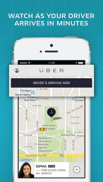Uber é um dos melhores serviços de trajetos