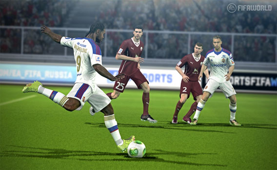 EA Sports FIFA World Screenshot