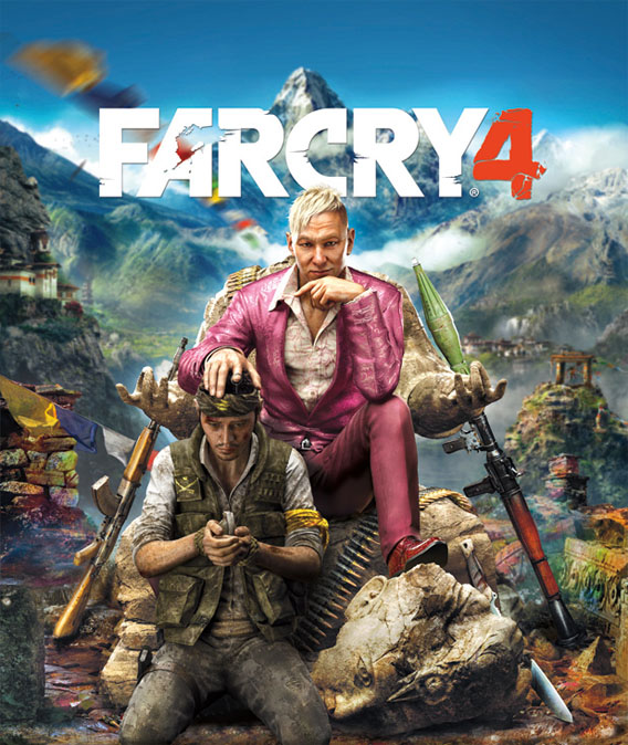 Far Cry 4 Poster Ubisoft
