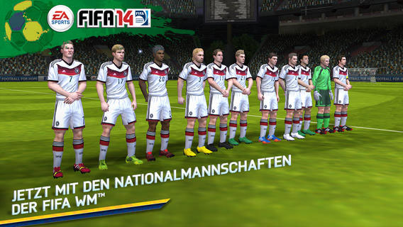 FIFA 14 Update zur Fußball-WM 2014 in Brasilien