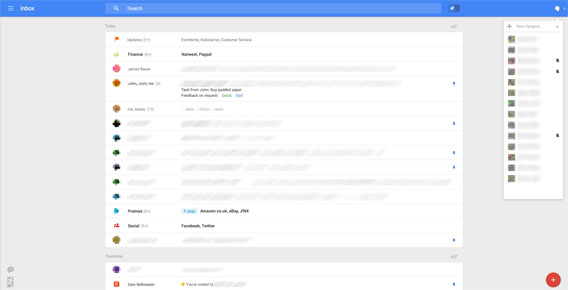 Gmail Web-Version Screenshot Leak