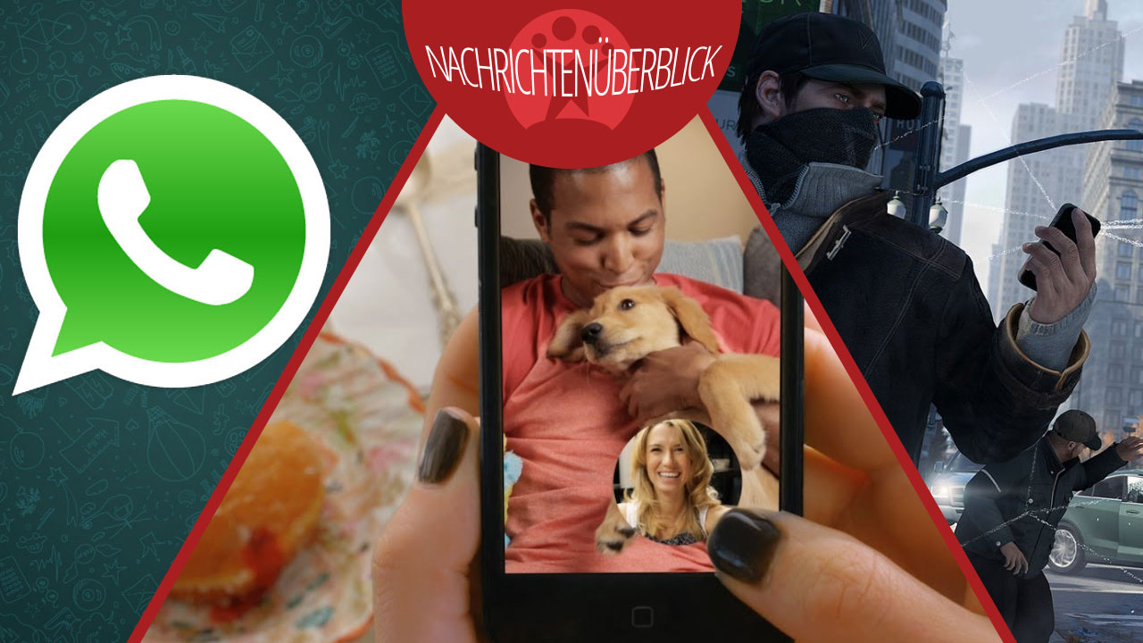 Snapchat-Konkurrenz von Facebook, WhatsApp für Windows Phone und Watch Dogs Spielszenen