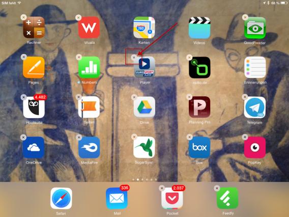 Apps löschen auf iPhone oder iPad