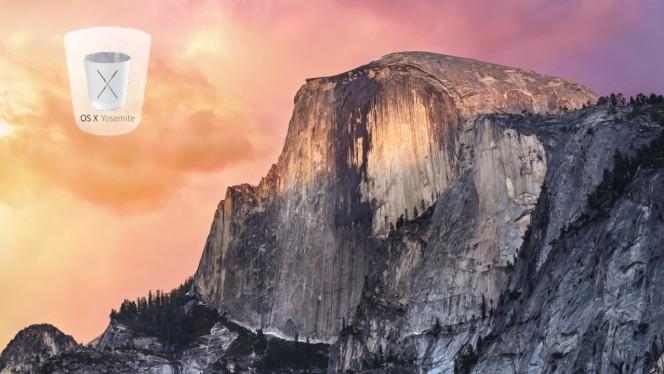 Das neue Design von OS X Yosemite: Der schönste Mülleimer der Welt - und mehr