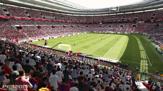 PES 2015 angespielt: Gute Stimmung im Stadion