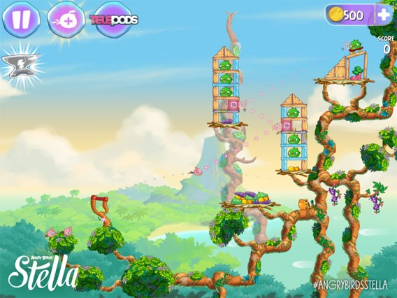 Die neue Angry Birds-Ausgabe Angry Birds Stella erscheint im September
