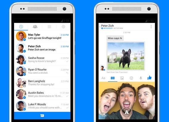 Facebook Messenger: Mit Instant-Videos für Android und iOS lassen sich kurze Clips verschicken