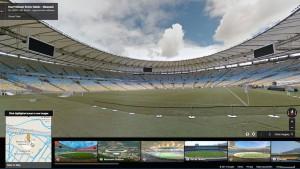 Mit Google Street View nach Brasilien zur Fußball-Weltmeisterschaft 2014