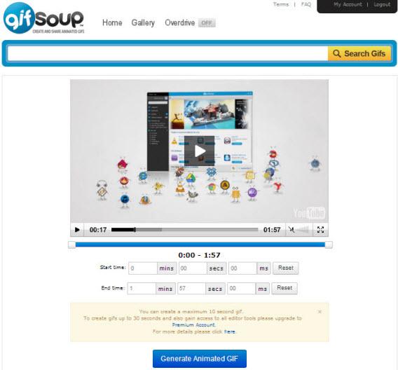 Générer un GIF animé avec GifSoup
