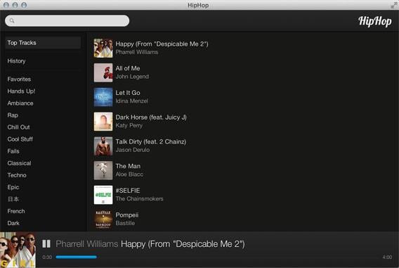 HipHop: Mit 45 Millionen Songs will die Anwendung zum Popcorn Time für Musik werden