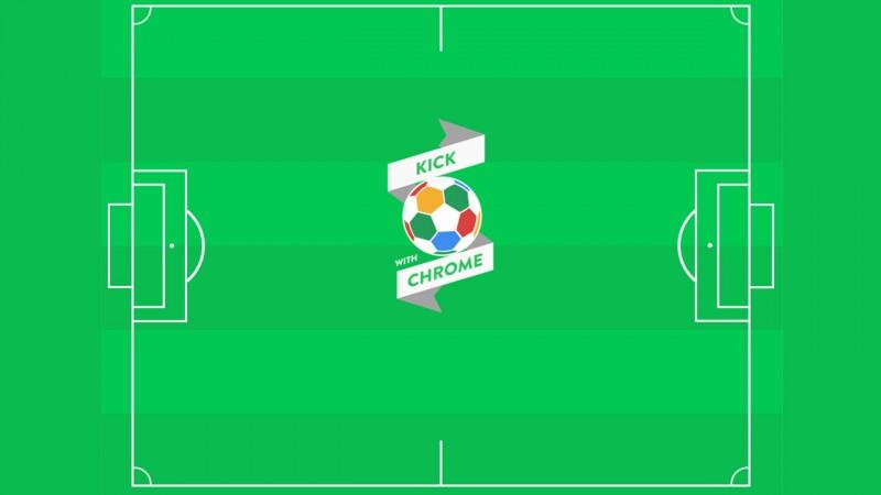 Kick with Chrome: Mit dem Smartphone und Browser kicken, dribbeln und Elfmeter versenken