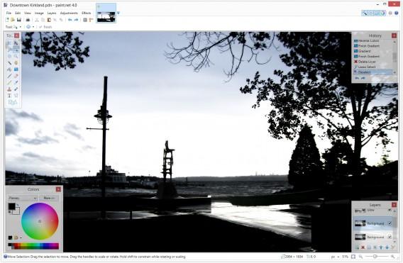 Paint.NET: Die kostenlose Bildbearbeitungssoftware erhält neue Werkzeuge und Effekte und läuft schneller