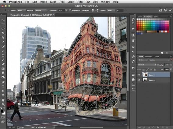 Adobe Photoshop: Neue Unschärfe-Filter und kostenlose iOS-App Photoshop Mix