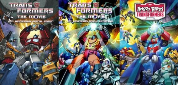 Angry Birds Transformers: In Rovios neuem Spiel kämpfen Transformer-Vögel gegen Roboter-Schweine