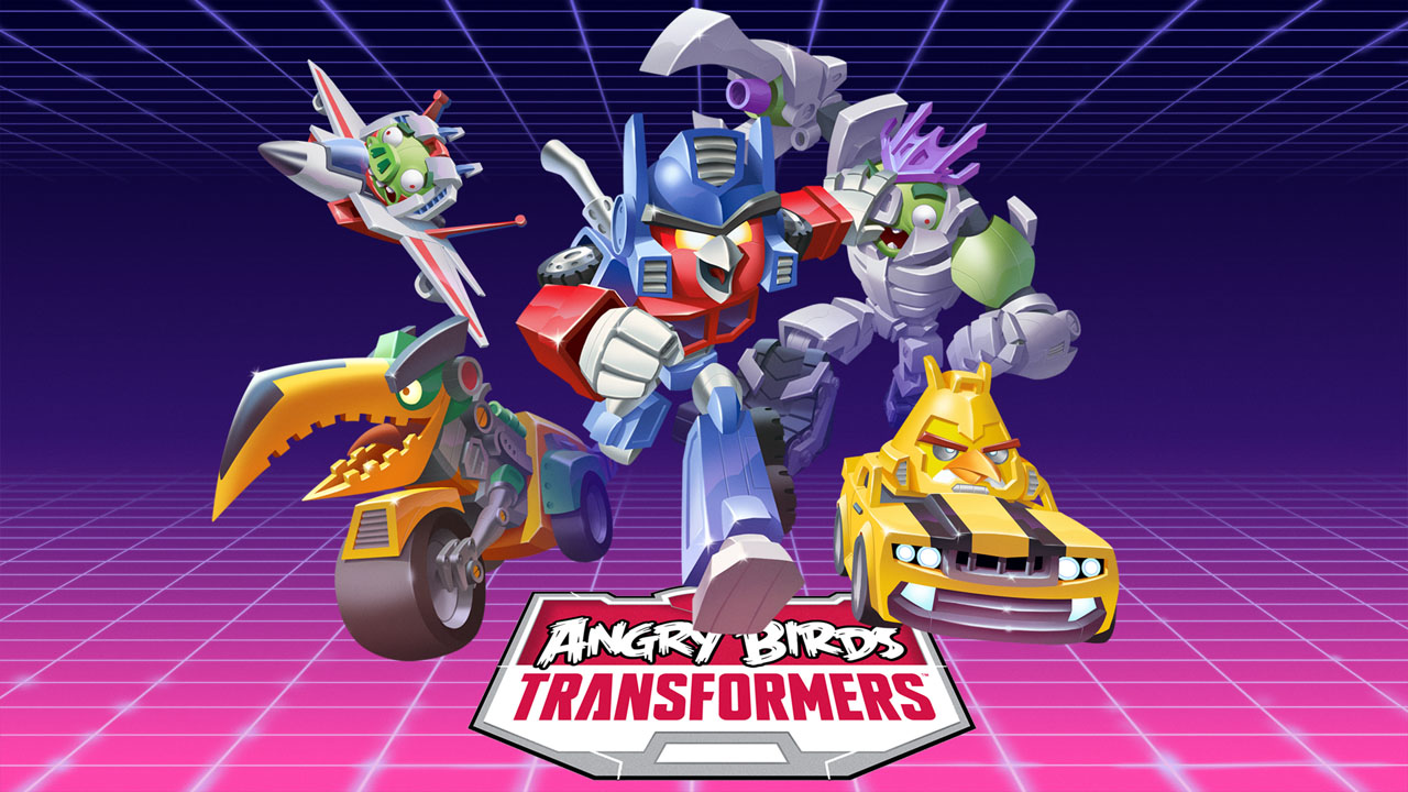 Angry Birds Transformers: Autobirds kämpfen gegen Roboter-Schweine in der neuen Angry Birds-Ausgabe