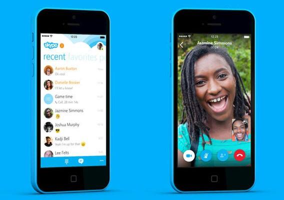 Skype 5.0 für iPhone mit neuer Oberfläche und verbesserter Geschwindigkeit