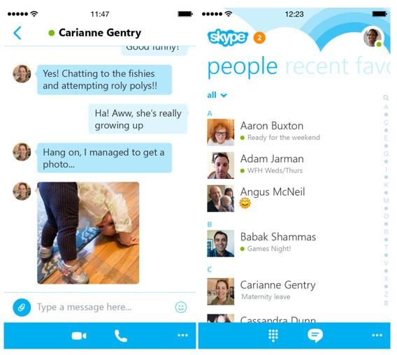 Skype 5.0 für iPhone: Microsoft kündigt großes Update mit neuem Design und Geschwindigkeitsverbesserung an
