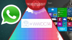 WhatsApp für Windows Phone, Apple Entwicklerkonferenz WWDC 2014, Windows 8.1 mit Bing