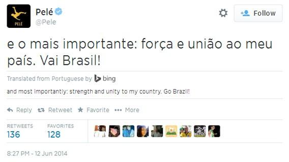 Twitter: Update zur Fußball-Weltmeisterschaft mit Tweet-Übersetzung von Bing
